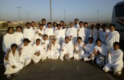 عودة المسلمين الجدد بعد ادائهم مناسك العمرة