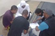 التعليم الأسبوعي  في شركة الدحيم  للجالية الإثيوبية.