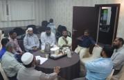 اجتماع الأخوه المتعاونين في قسم الجالية التاملية