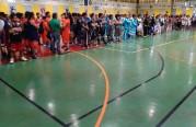 برنامج بملعب كرة السلة للجالية الفلبينية