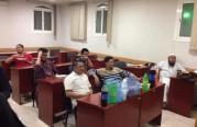 تعليم للجالية الفلبينية في المكتب.