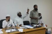 اجتماع للجالية المليبارية في المكتب .