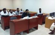 الدورة الشرعية المستوى الثالث للجاليه البنغالية الشيخ عبدالله شاهد.