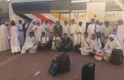 انطلاق رحلة العمره الثانية لهذا العام للشباب السعودي.