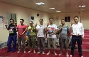 اسلام 7 رجال من الجالية الصينية.