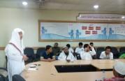 المحاضرة الأسبوعية للمهتدين الجدد للجالية الفلبينية بمقر المكتب يوم الجمعة.