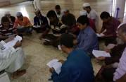 دورة شرعية في بنغلاديش لأحد طلاب العلم الخريجين بالمكتب.