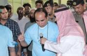 سعادة محافظ الجبيل ييلقن ٨ مسلمين جدد الشهادة في #يوم_الوفاء_لشهداء_الوطن٢ خلال فعاليات #مخيم_افطار_ودعوة_الجبيل٢٢