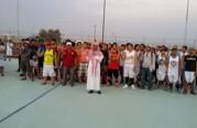 نبشركم بإسلام ٥٨ فلبيني خلال البرنامج الرياضي لكرة السلة بميناء الجبيل