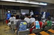 تعليم المهتدين للجالية الفلبينية في RC CAMP-2 .