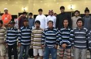 إسلام 12 شخص بمشاركة مدرسة الأبناء المتوسطة بالأسطول الشرقي.