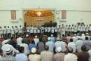 في موقف مهيب ٢٧ فلبيني يعلنون اسلامهم بالجامع الكبير بالجبيل ، ويؤدون أول صلواتهم