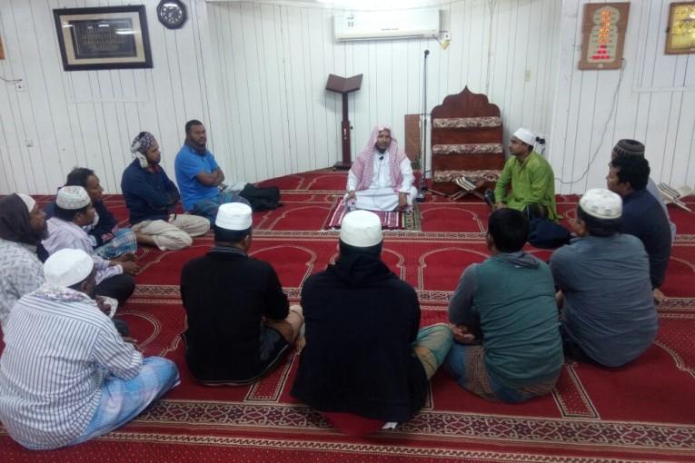 الدوره الشرعيه للجاليه المسلمه البن شركه اليمامه